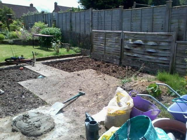 Landscaping project in Bracknell