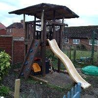 Playhouse dismanted and rebuilt - Bracknell