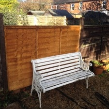 fence panel replaced