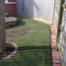 brick | block lawn edging