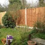 new closeboard fence