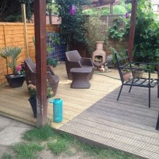 decking project. job finished.