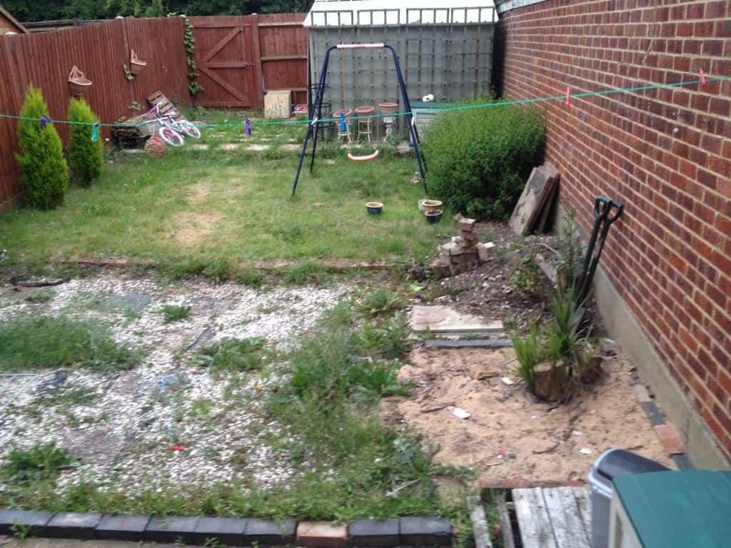 garden makeover / landscaping project vwoodley