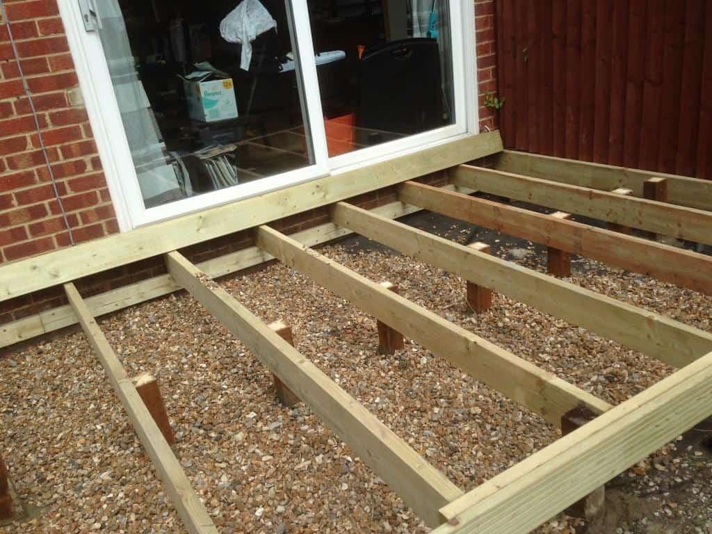 new decking framework