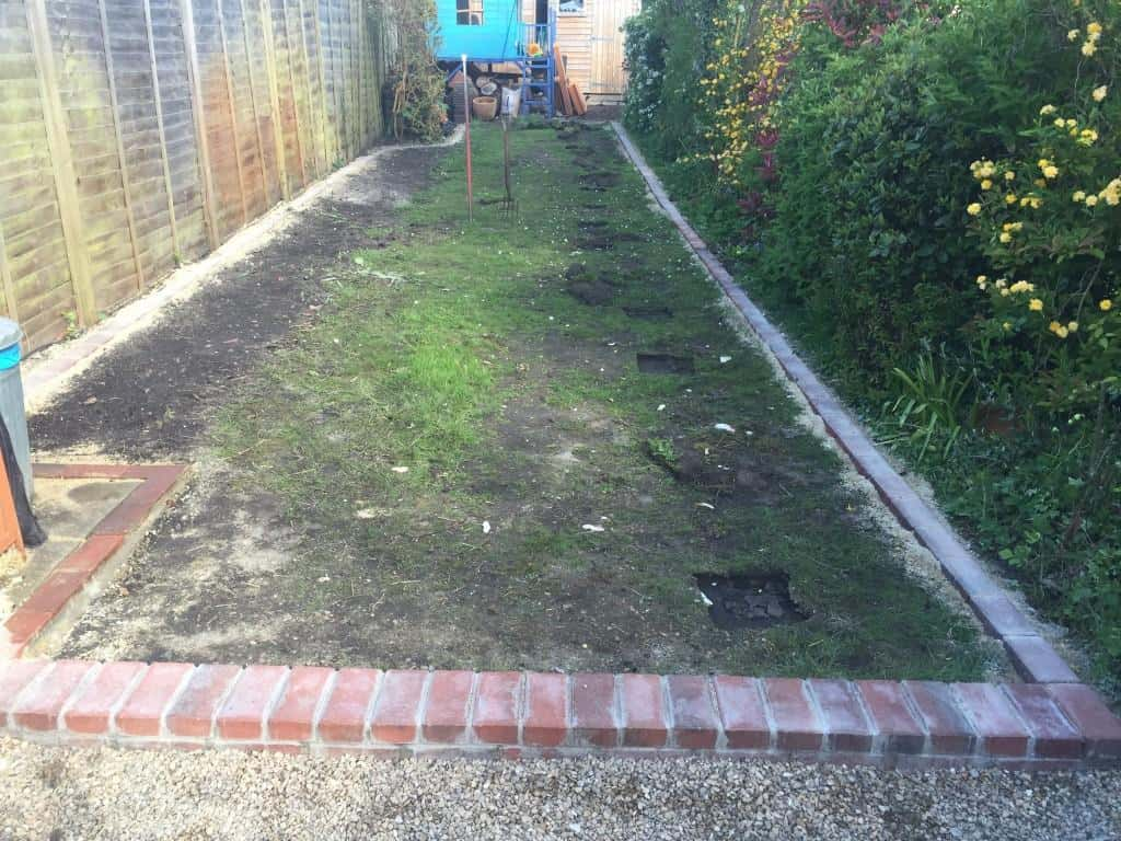 Lawn Edging Construction