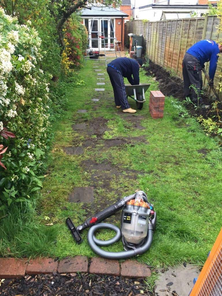 Lawn Edging To Be Done