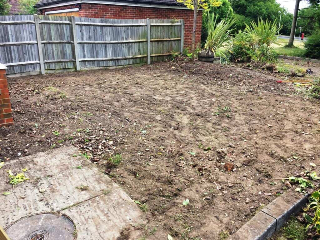 turfing service. ground preparation