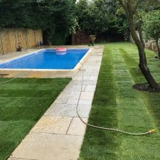 Lawn returfing - Reading