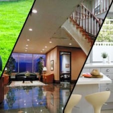House cleaning service and gardening work service