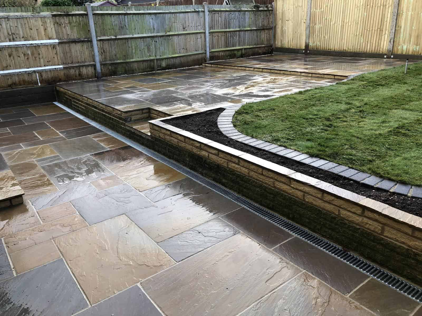 New look - garden landscaped