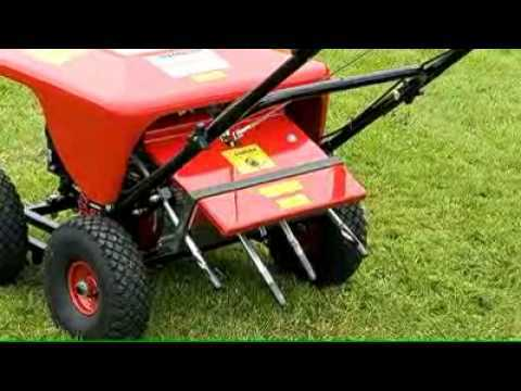 Lawn care - aeration & scarification & mowing