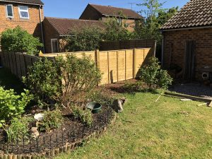 Missing fence to be rebuilt