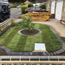 front garden landscaping