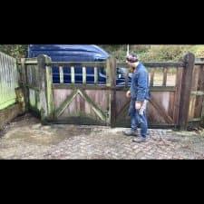 garden gate repair