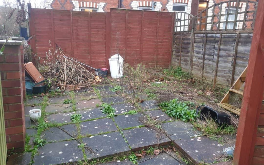End of tenancy garden tidy up